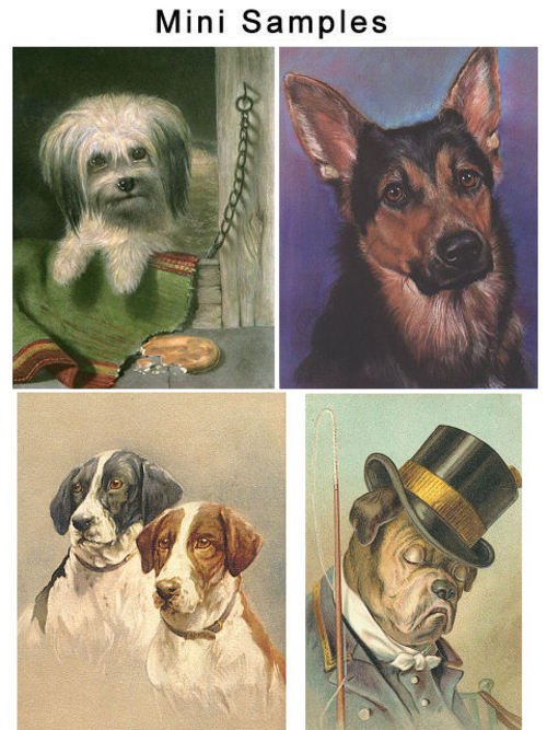 Product picture Vintage Dogs And Breeds Images