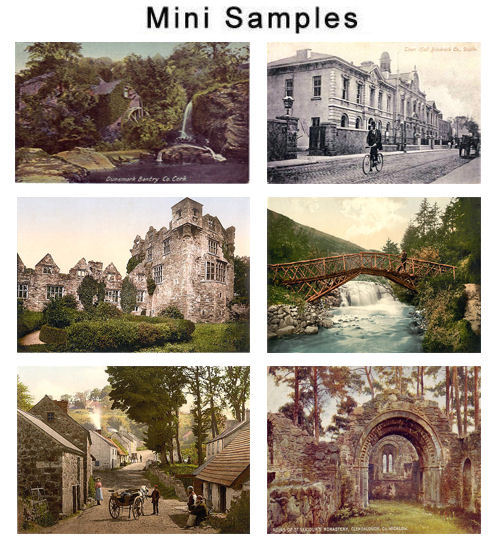 Product picture Ireland Vintage Postcard Images 500 images