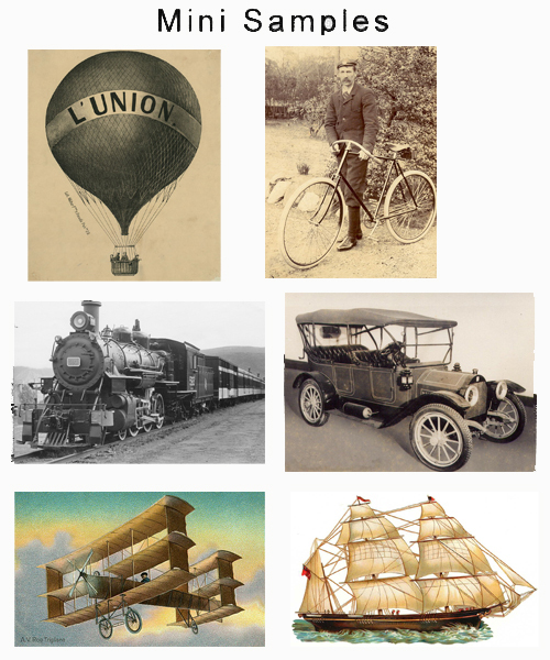Product picture Transportation Vintage Images over 2,000 Images