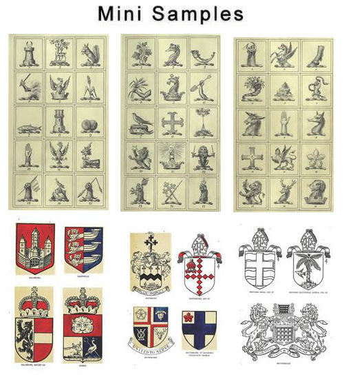 Product picture Vintage Public Arms & Crests Images HQ 580