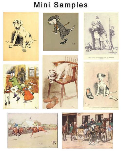 Product picture Artist & Illustrator Cecil Aldin Vintage Images HQ Over 300