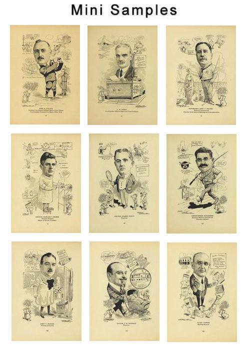 Product picture Caricature Club Men Vintage Images HQ 357