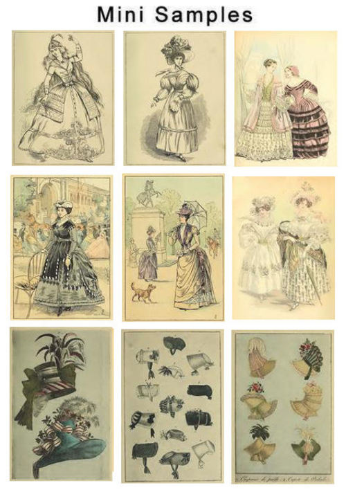 Product picture Vintage Ladys Fashion Images HQ Over 500